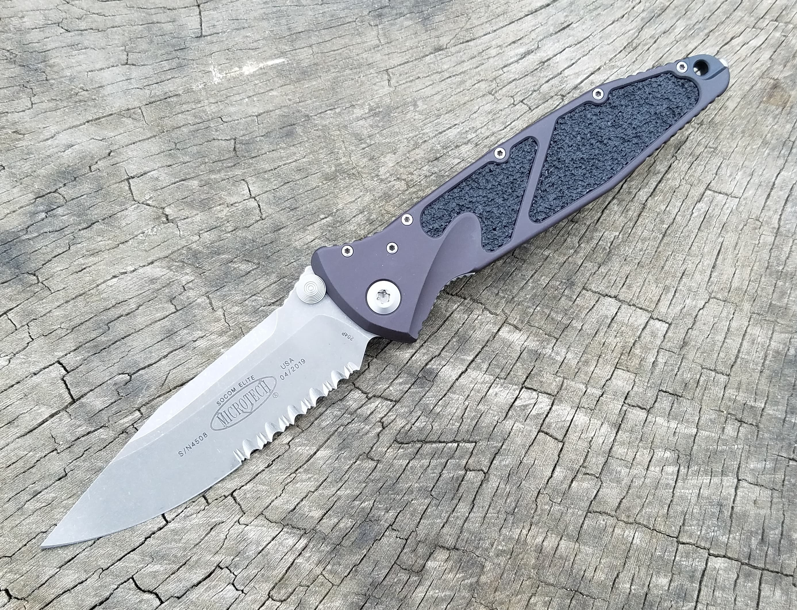 Microtech Socom Elite Manual Knife PS