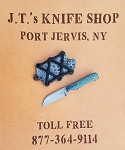 Hunter Yannotti Damascus Neck Knife