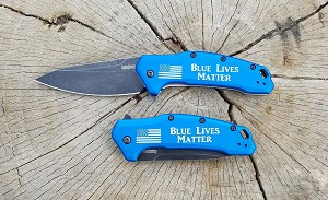 Thin Blue Line Kershaw Link